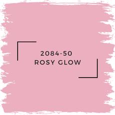Benjamin Moore 2084-50  Rosy Glow