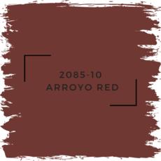 Benjamin Moore 2085-10  Arroyo Red