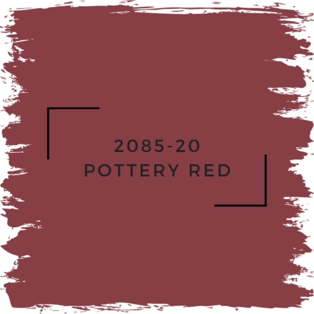 Benjamin Moore 2085-20 Pottery Red