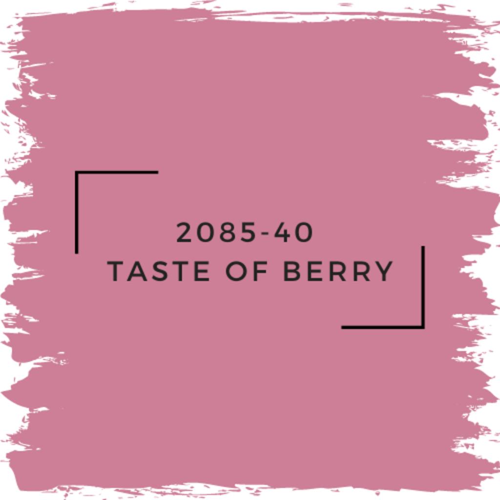 Benjamin Moore 2085-40  Taste Of Berry