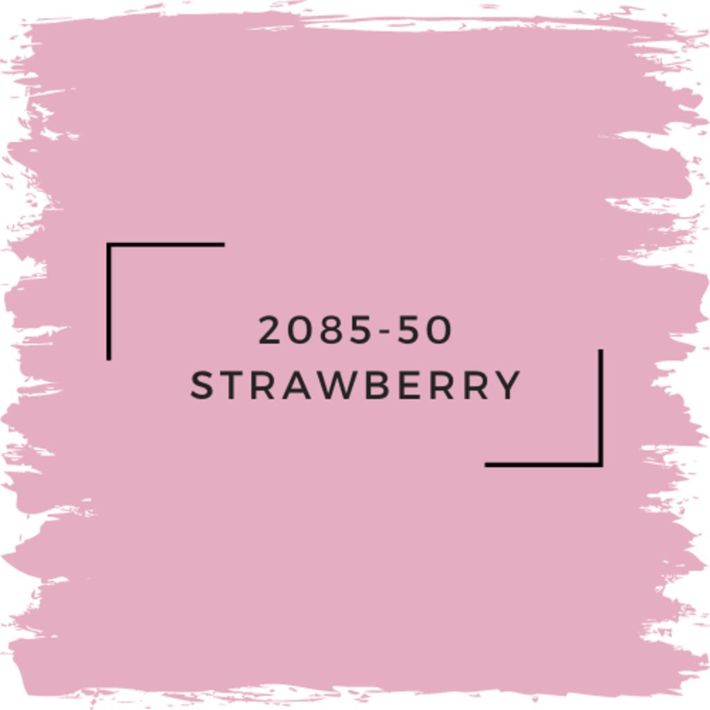 Benjamin Moore 2085-50 Strawberry