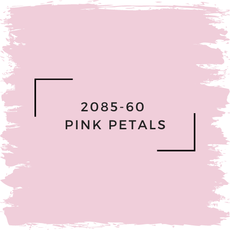 Benjamin Moore 2085-60  Pink Petals