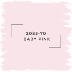 Benjamin Moore 2085-70  Baby Pink