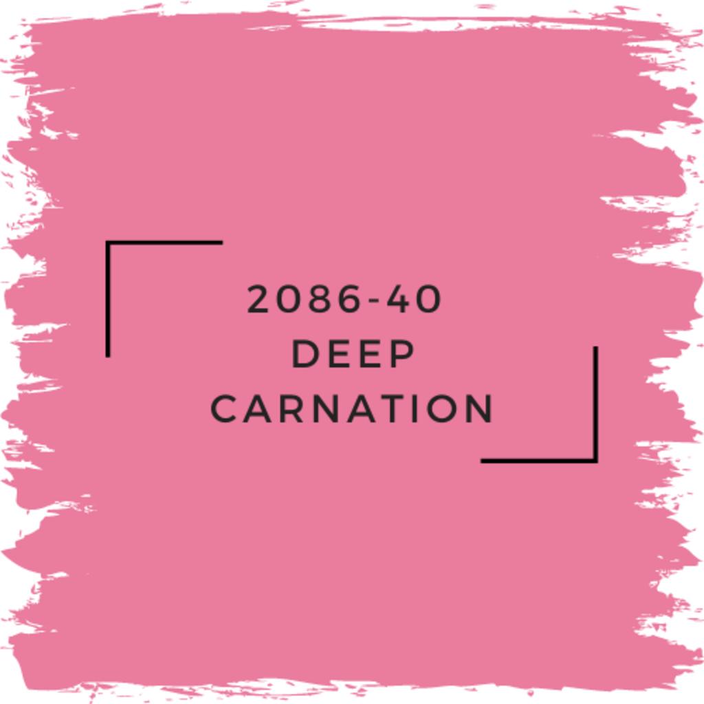 Benjamin Moore 2086-40  Deep Carnation