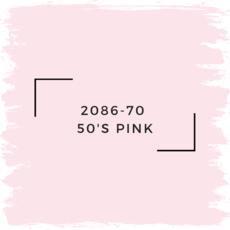 Benjamin Moore 2086-70  50'S Pink