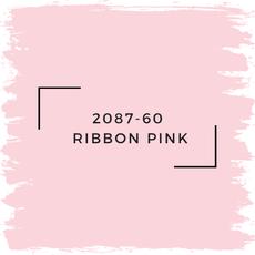 Benjamin Moore 2087-60  Ribbon Pink