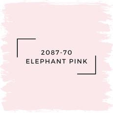 Benjamin Moore 2087-70 Elephant Pink