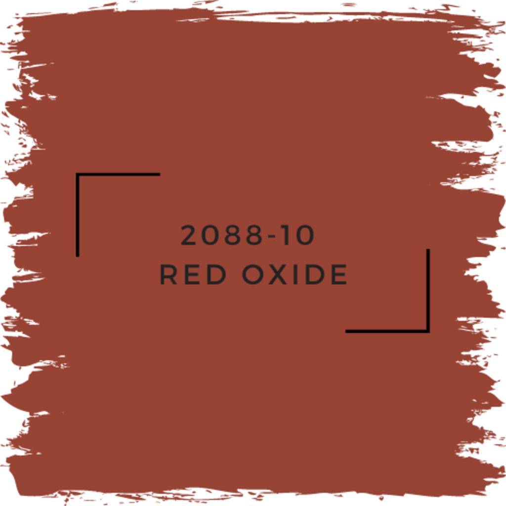 Benjamin Moore 2088-10  Red Oxide