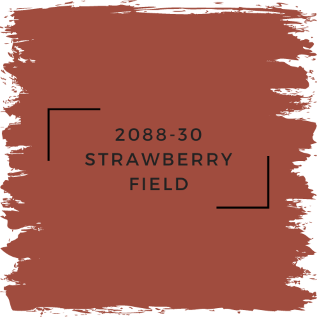 Benjamin Moore 2088-30 Strawberry Field