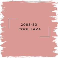 Benjamin Moore 2088-50  Cool Lava