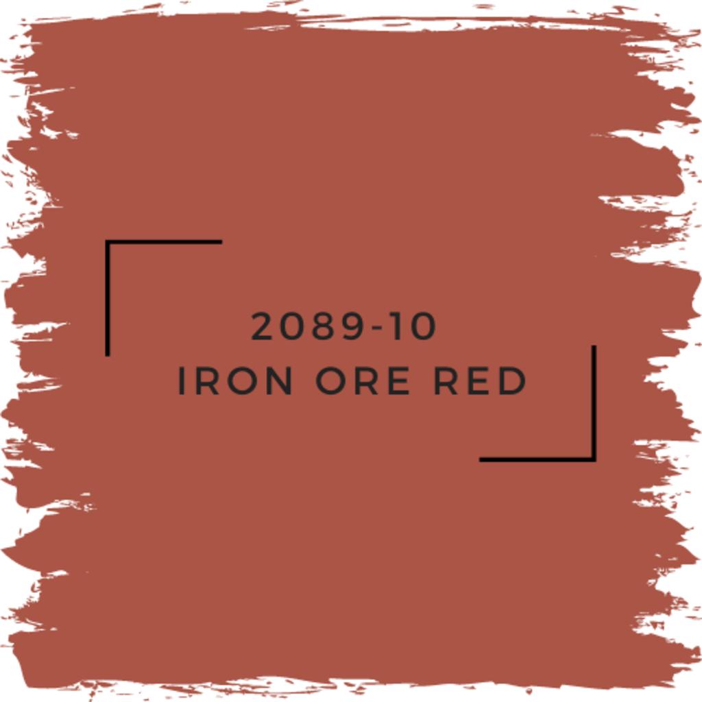 Benjamin Moore 2089-10  Iron Ore Red