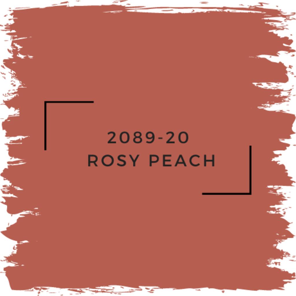 Benjamin Moore 2089-20  Rosy Peach