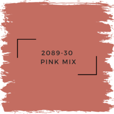 Benjamin Moore 2089-30  Pink Mix