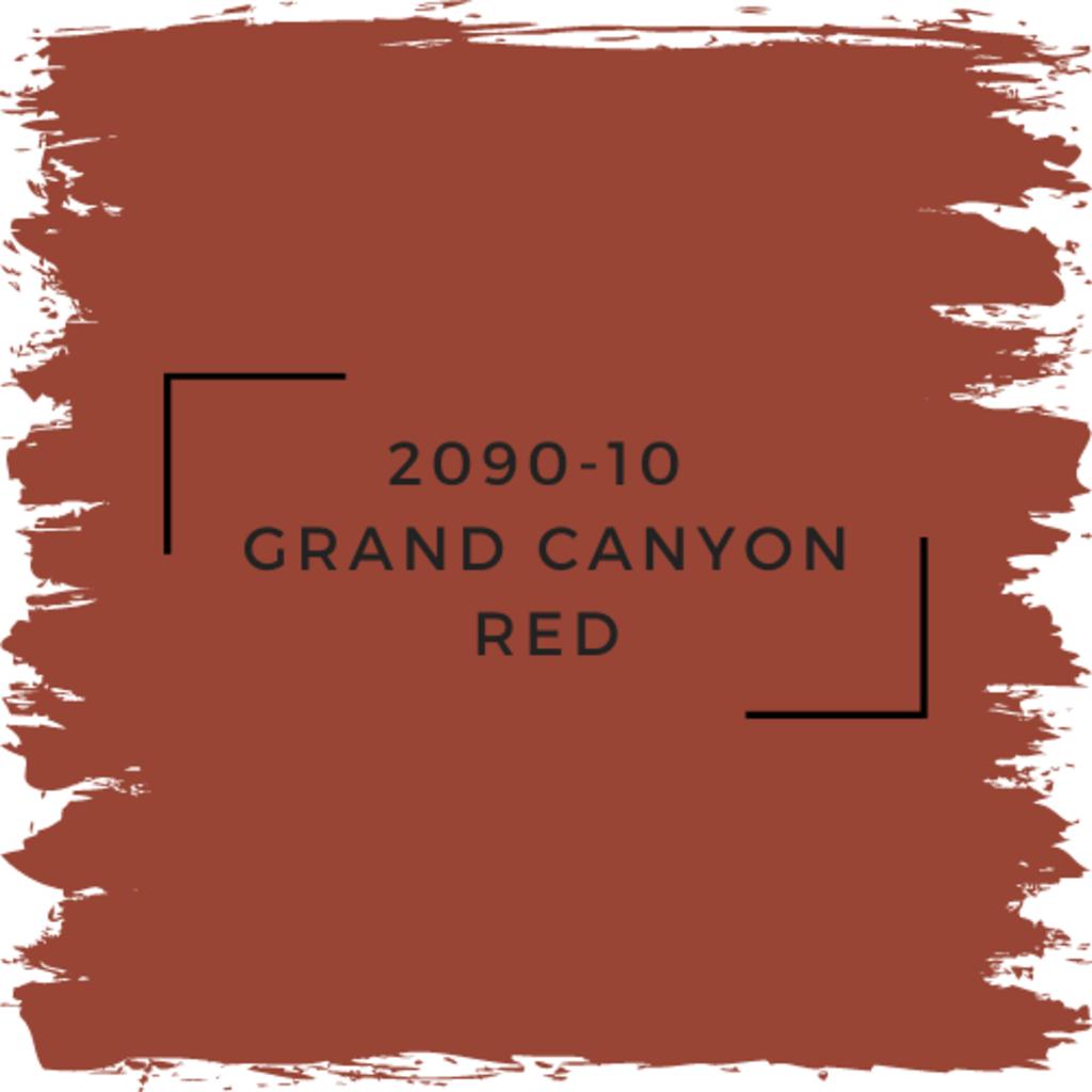 Benjamin Moore 2090-10  Grand Canyon Red