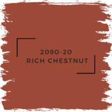 Benjamin Moore 2090-20  Rich Chestnut