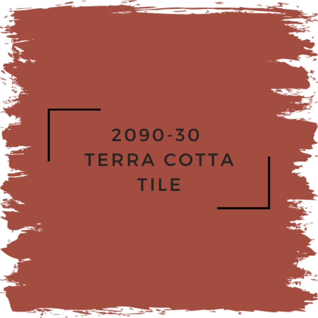 Benjamin Moore 2090-30  Terra Cotta Tile