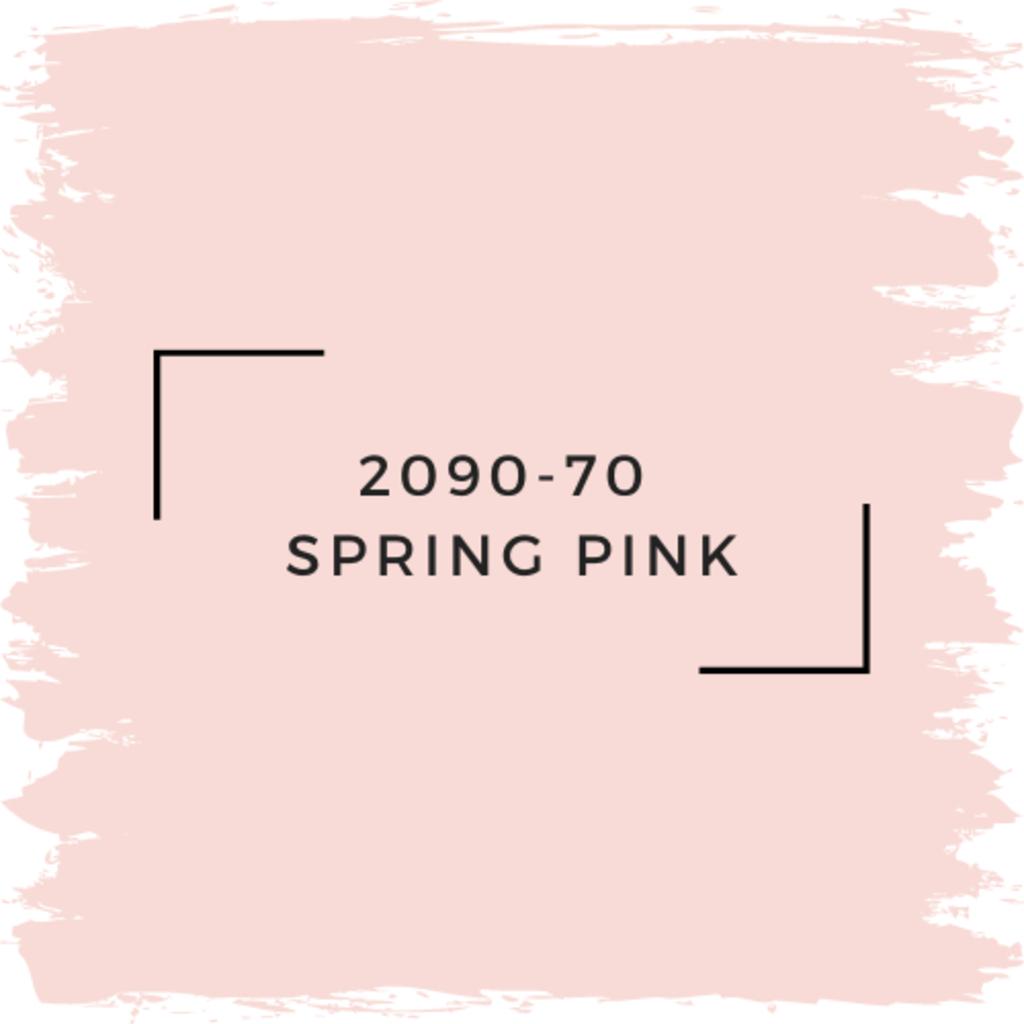 Benjamin Moore 2090-70  Spring Pink
