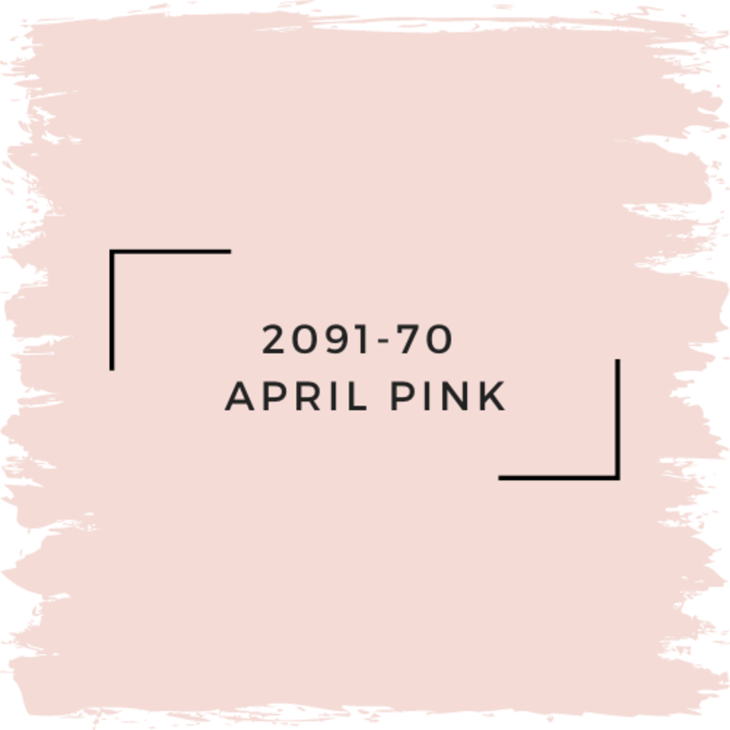 Benjamin Moore 2091-70  April Pink