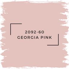 Benjamin Moore 2092-60 Georgia Pink