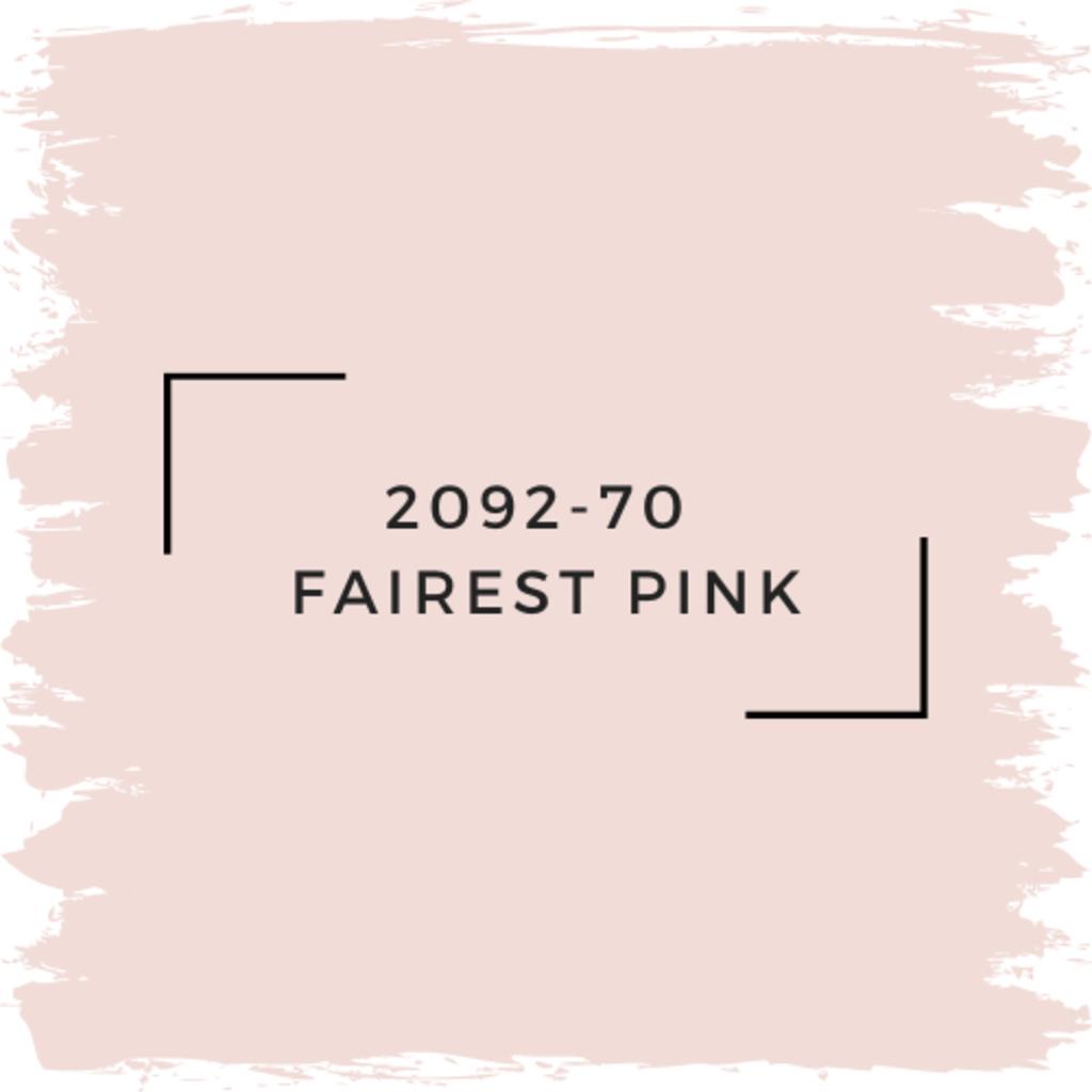 Benjamin Moore 2092-70  Fairest Pink
