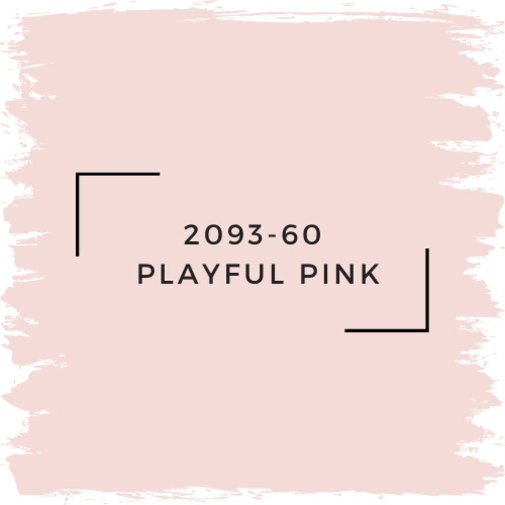 Benjamin Moore 2093-60  Playful Pink