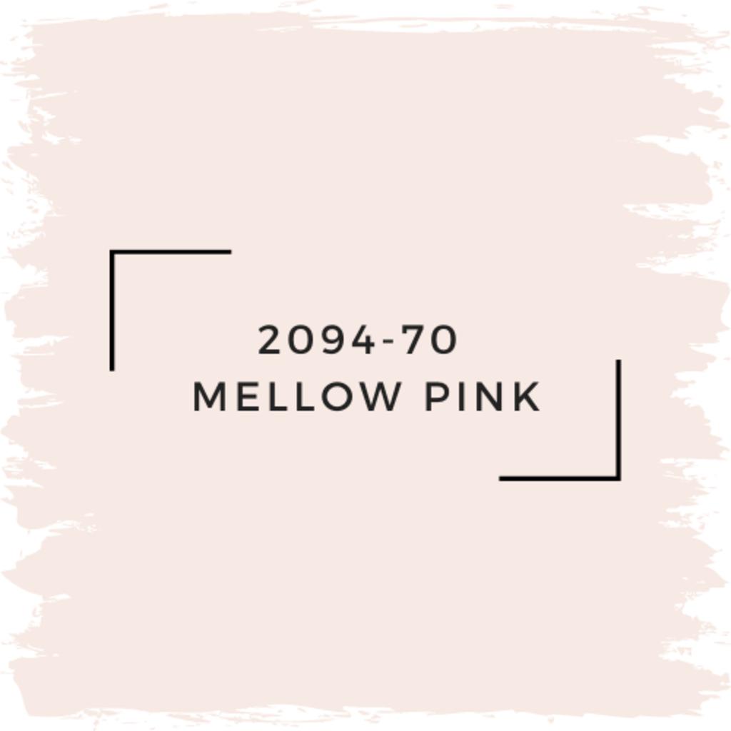 Benjamin Moore 2094-70  Mellow Pink