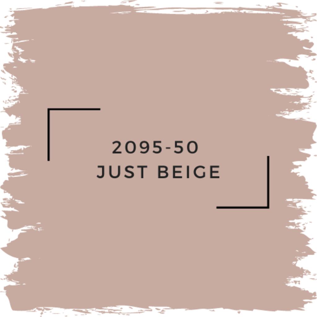 Benjamin Moore 2095-50  Just Beige