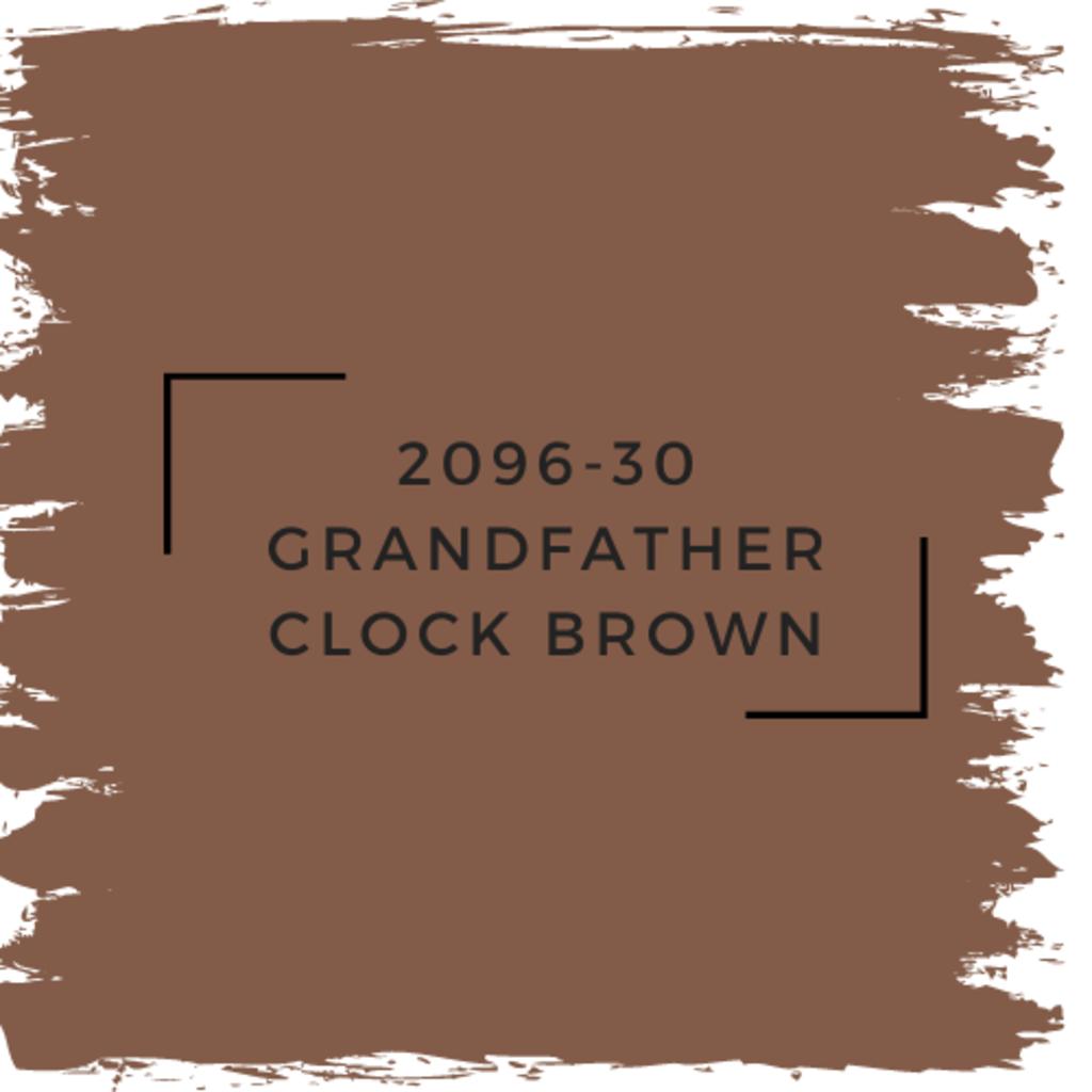 Benjamin Moore 2096-30 Grandfather Clock Brown
