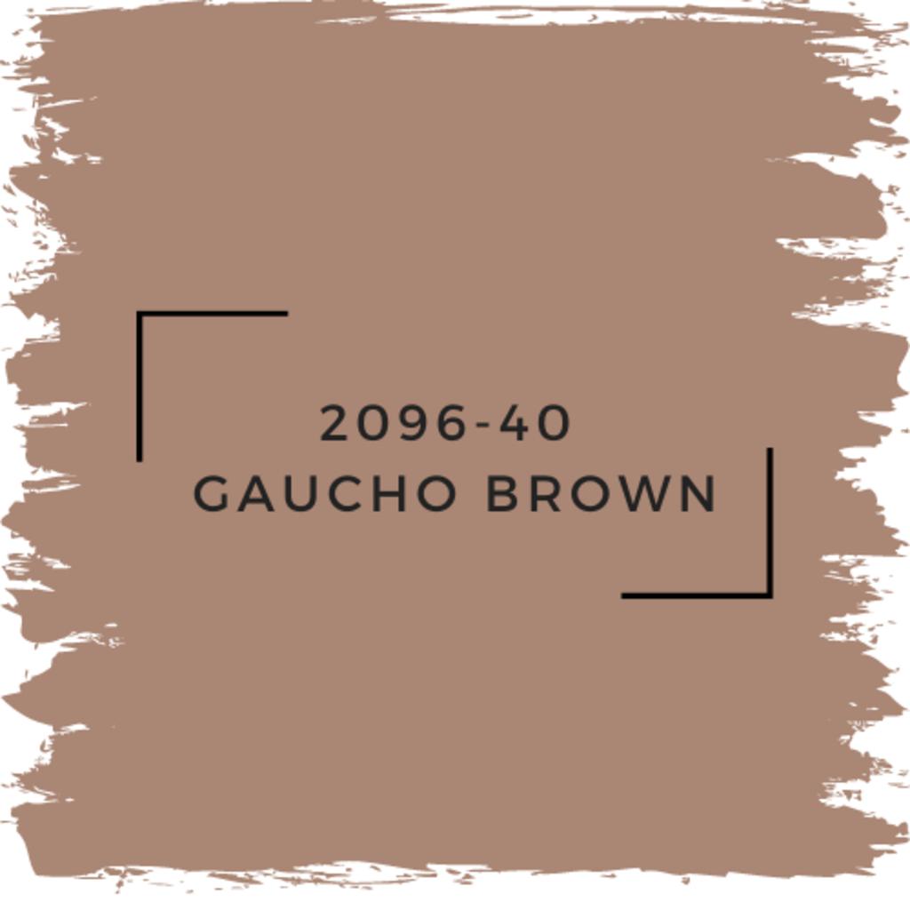 Benjamin Moore 2096-40  Gaucho Brown