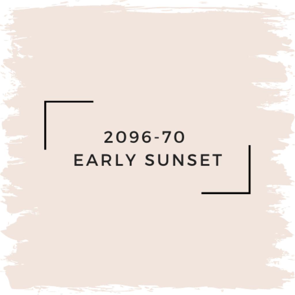 Benjamin Moore 2096-70  Early Sunset