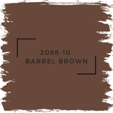Benjamin Moore 2098-10  Barrel Brown