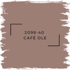 Benjamin Moore 2098-40  Café Ole