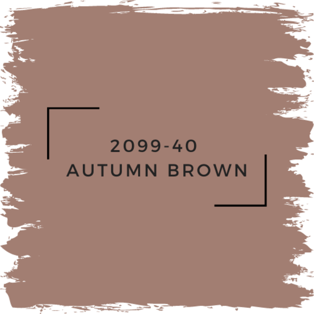 Benjamin Moore 2099-40  Autumn Brown