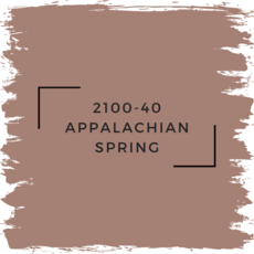 Benjamin Moore 2100-40 Appalachian Spring