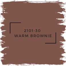 Benjamin Moore 2101-30  Warm Brownie