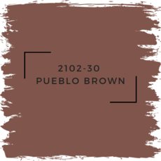Benjamin Moore 2102-30  Pueblo Brown