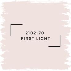 Benjamin Moore 2102-70  First Light