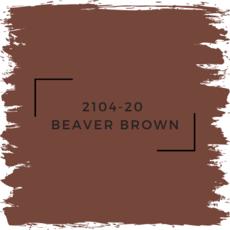 Benjamin Moore 2104-20  Beaver Brown