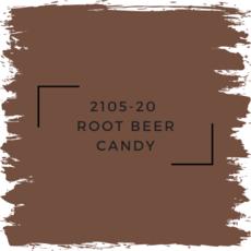Benjamin Moore 2105-20  Root Beer Candy