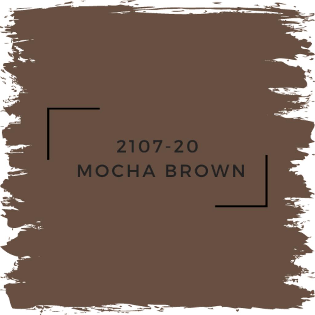 Benjamin Moore 2107-20  Mocha Brown