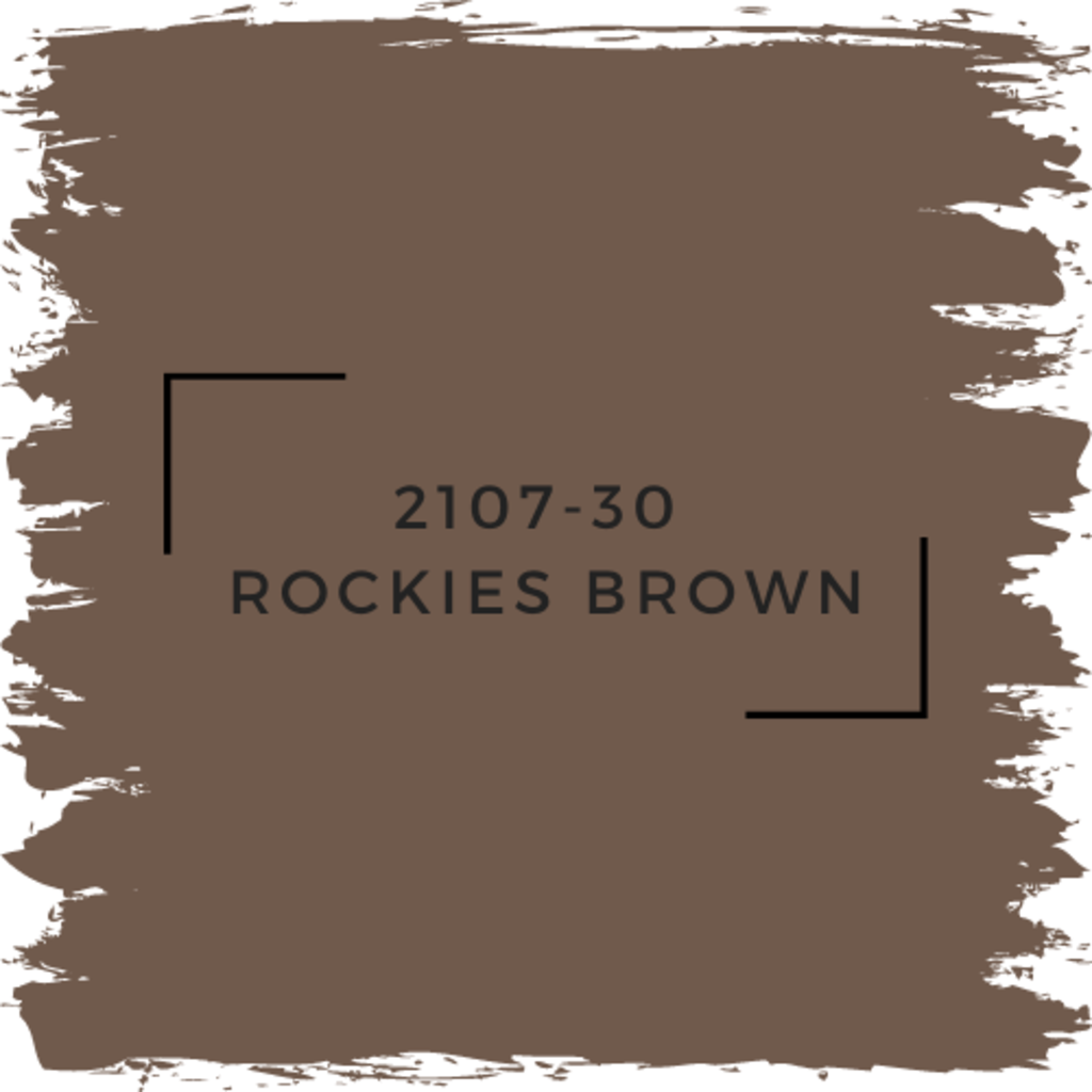 Benjamin Moore 2107-30  Rockies Brown