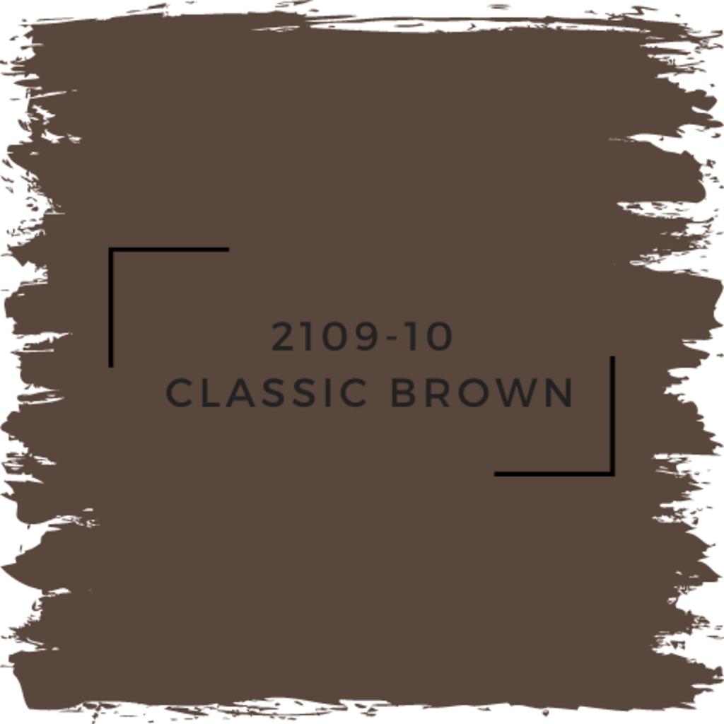 Benjamin Moore 2109-10  Classic Brown