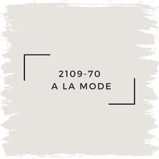 Benjamin Moore 2109-70  A La Mode