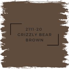 Benjamin Moore 2111-20  Grizzly Bear Brown