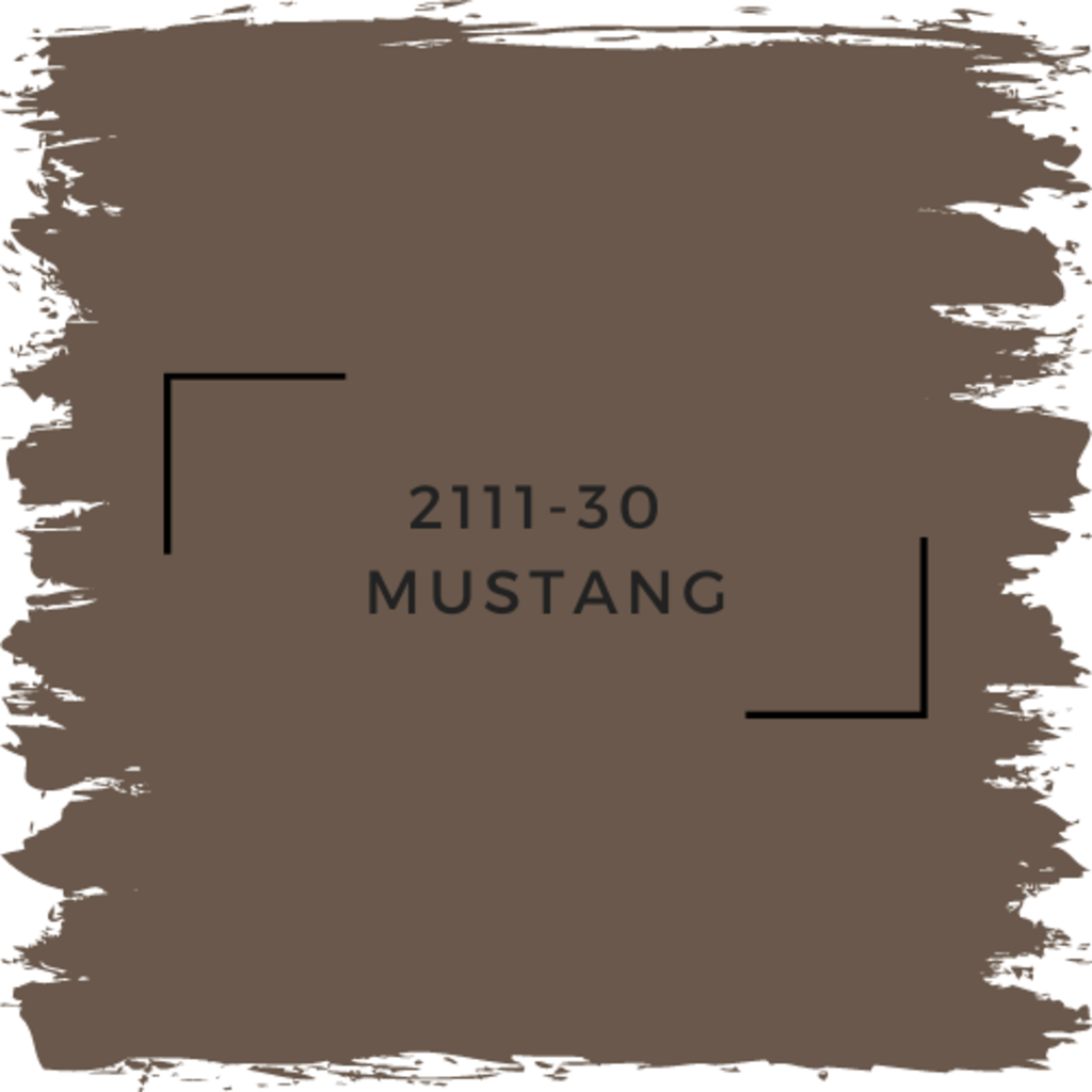 Benjamin Moore 2111-30  Mustang