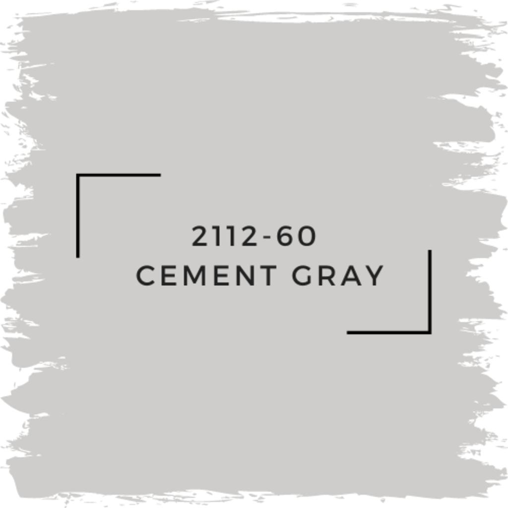 Benjamin Moore 2112-60  Cement Gray