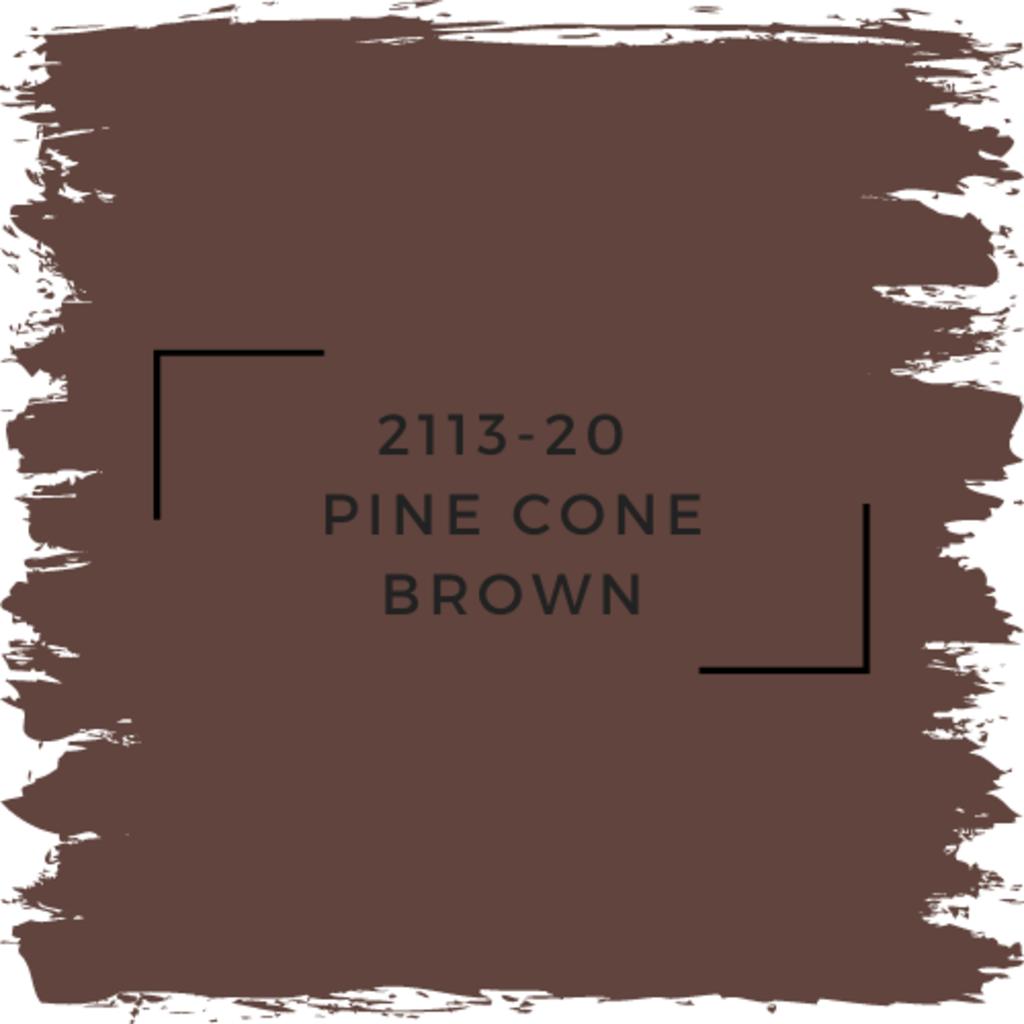 Benjamin Moore 2113-20  Pine Cone Brown