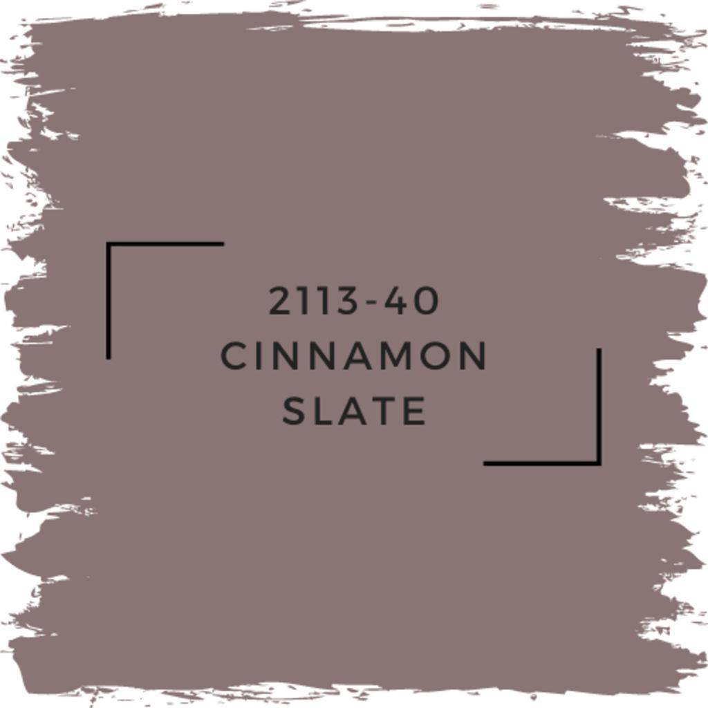 Benjamin Moore 2113-40 Cinnamon Slate