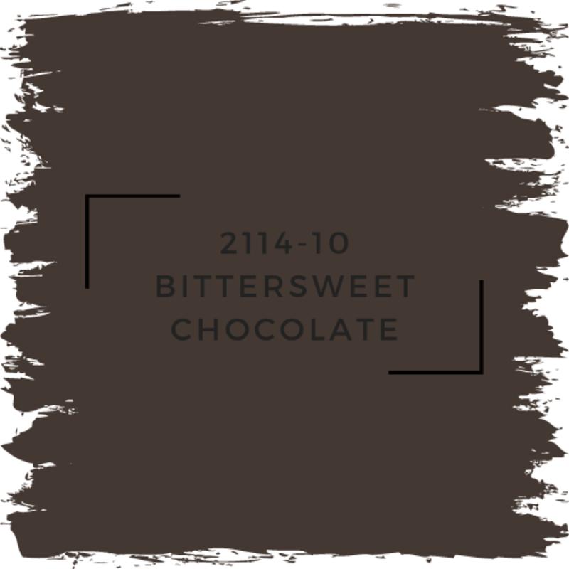 Benjamin Moore 2114-10 Bittersweet Chocolate