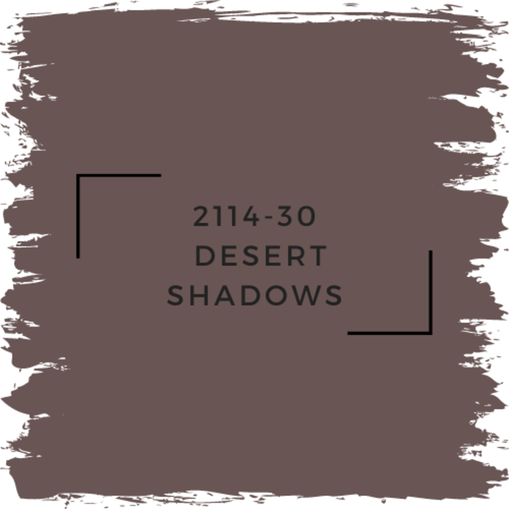 Benjamin Moore 2114-30  Desert Shadows